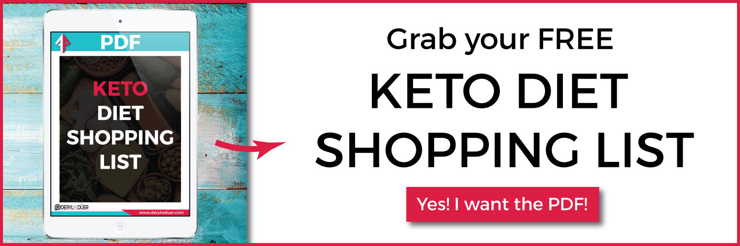 Free Keto Diet Shopping List